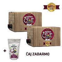 100% šťava BIO Arónia 2x 5L + Sypaný čaj Aronia 150g Zamio, s.r.o.
