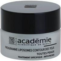 Academie All Skin Types vyhladzujúci očný gél proti opuchom  15 ml