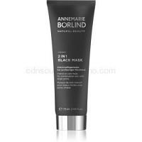AnneMarie Börlind Beauty Masks maska 2 v 1 pre zmiešanú až mastnú pokožku  75 ml