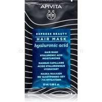 Apivita Express Beauty Hyaluronic Acid hydratačná maska na vlasy 20 ml