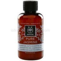 Apivita Pure Jasmine sprchový gél s esenciálnymi olejmi  75 ml