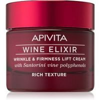 Apivita Wine Elixir Santorini Vine bohatý protivráskový krém so spevňujúcim účinkom 50 ml