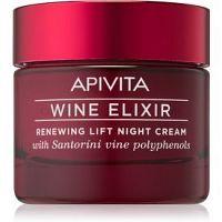 Apivita Wine Elixir Santorini Vine obnovujúci nočný krém s liftingovým efektom 50 ml