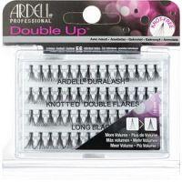 Ardell Double Up trsové nalepovacie mihalnice s uzlíkom veľkosť Medium Black