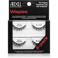 Ardell Wispies umelé riasy Demi Whispes Black 6 ks