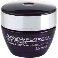 Avon Anew Platinum krém na očné okolie a pery  15 ml