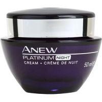 Avon Anew Platinum nočný krém proti hlbokým vráskam 50 ml