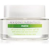 Avon Nutra Effects Matte zmatňujúci denný krém SPF 20 50 ml