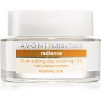 Avon Nutra Effects Radiance rozjasňujúci denný krém SPF 20 50 ml