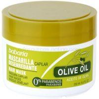 Babaria Olive vyživujúca maska na vlasy s olivovým olejom 250 ml