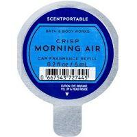 Bath & Body Works Crisp Morning Air vôňa do auta 6 ml náhradná náplň