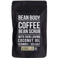 Bean Body Vanilla vyhladzujúci telový peeling 220 g