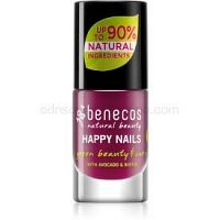 Benecos Happy Nails ošetrujúci lak na nechty odtieň Wild Orchid 5 ml