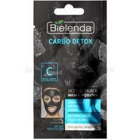 Bielenda Carbo Detox Active Carbon čistiaca maska s aktívnym uhlím pre suchú až citlivú pleť  8 g