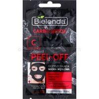 Bielenda Carbo Detox Active Carbon zlupovacia pleťová maska s aktívnym uhlím pre mastnú a zmiešanú pleť  2 x 6 g