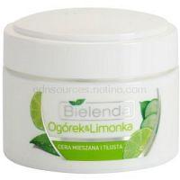 Bielenda Cucumber&Lime hydratačný zmatňujúci krém pre mastnú a zmiešanú pleť  50 ml