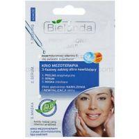 Bielenda Professional Formula peeling, sérum a maska s hydratačným účinkom  3 x 3 g