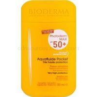 Bioderma Photoderm Max ochranný zmatňujúci fluid na tvár SPF 50+ vodeodolný  30 ml
