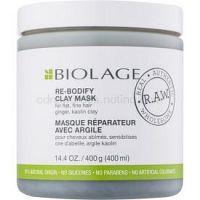 Biolage R.A.W. Uplift ílová maska pre jemné vlasy bez objemu bez parabénov a silikónov 400 ml