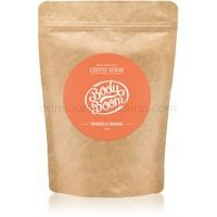 BodyBoom Ginger & Orange kávový telový peeling 200 g