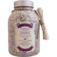 Bohemia Gifts & Cosmetics Bohemia Natur upokojujúca kúpeľová soľ s bylinkami s levanduľou  1200 g