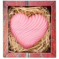 Bohemia Gifts & Cosmetics Heart ručne vyrobené mydlo s glycerínom  120 g
