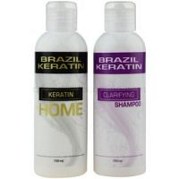 Brazil Keratin Home kozmetická sada I. (pre nepoddajné vlasy) pre ženy