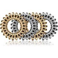 BrushArt Hair Rings Metal gumičky do vlasov 4 ks