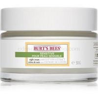 Burt's Bees Sensitive hydratačný nočný krém pre citlivú pleť 50 g