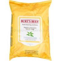 Burt's Bees White Tea vlhčené čistiace obrúsky 30 ks