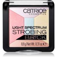 Catrice Light Spectrum Strobing Bricks rozjasňovač odtieň 030 Candy Cotton 8,8 g