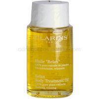 Clarins Body Specific Care relaxačný telový olej s rastlinnými extraktmi 100 ml