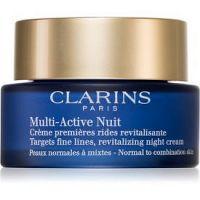 Clarins Multi-Active Nuit nočný revitalizačný krém na jemné vrásky pre normálnu až zmiešanú pleť 50 ml