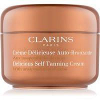 Clarins Sun Self-Tanners samoopaľovací krém na tvár a telo s kakaovým maslom  125 ml