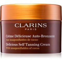 Clarins Sun Self-Tanners samoopaľovací krém na tvár a telo s kakaovým maslom  150 ml