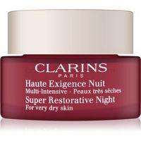 Clarins Super Restorative Night nočný krém proti prejavom starnutia pleti pre veľmi suchú pleť 50 ml