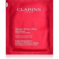 Clarins Super Restorative obnovujúca maska pre okamžité vyhladenie vrások  30 ml