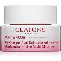 Clarins White Plus rozjasňujúca nočná maska 50 ml