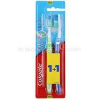 Colgate Extra Clean zubné kefky medium 2 ks farebné varianty
