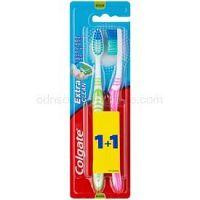 Colgate Extra Clean zubné kefky medium 2 ks farebné varianty 2 ks