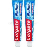 Colgate Max Fresh Cooling Crystals zubná pasta pre svieži dych príchuť Cool Mint 2 x 75 ml