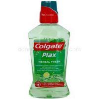 Colgate Plax Herbal Fresh ústna voda proti zubnému povlaku 500 ml