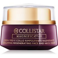Collistar Magnifica Plus Replumping Regenerating Face and Neck Cream spevňujúci a vyhladzujúci krém na tvár a krk 50 ml