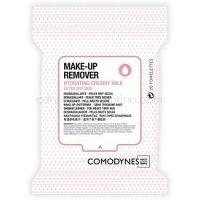 Comodynes Make-up Remover Creamy Milk odličovacie obrúsky pre veľmi suchú pleť 20 ks