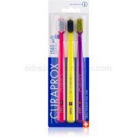 Curaprox 1560 Soft zubné kefky 3 ks farebné varianty 3 ks