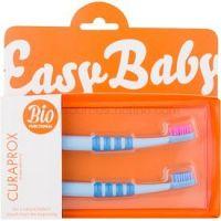 Curaprox Easy Baby zubná kefka pre deti 2 ks