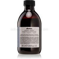 Davines Alchemic Silver vyživujúci šampón pre zvýraznenie farby vlasov 280 ml