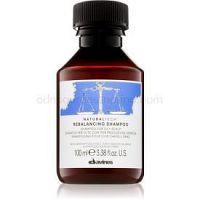 Davines Naturaltech Rebalancing hĺbkovo čistiaci šampón pre mastnú pokožku hlavy 100 ml