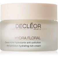 Decléor Hydra Floral bohatý hydratačný krém pre suchú pleť 50 ml
