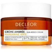 Decléor Mandarine Verte Créme Ambrée tónovací krém na tvár s vyhladzujúcim efektom 50 ml